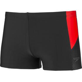 speedo Dive Aquashorts Men Black/Red
